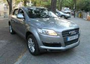 Audi q7 3.o tdi. automatico. 5 plazas