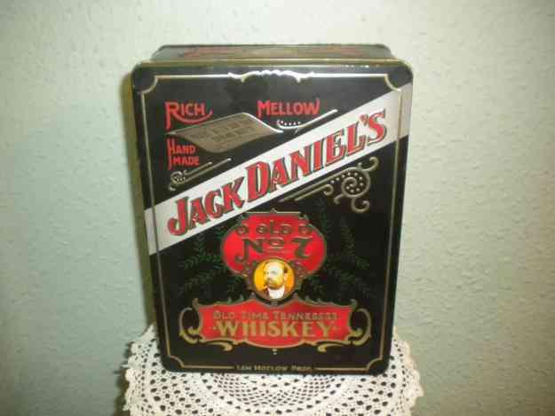 Caja metalica de whiskey Jack Daniel's