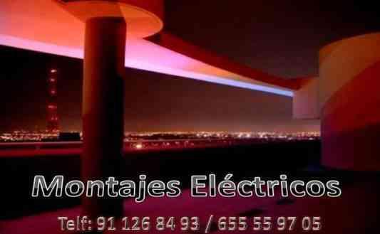 ELECTRICISTAS (AVERÍAS, REFORMAS, CAMBIO DE POTENCIA, ILUMINACION ECT..)