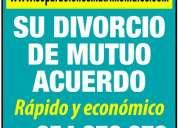 Divorcios y derecho de familia a través de internet.-