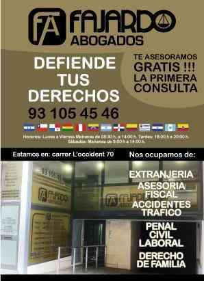 Despacho de abogados - Barcelona