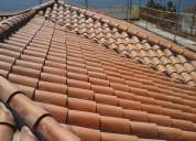 Colocacion de tejas y cubiertas tejeros tejadores.