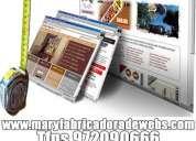 DiseÑo web y posicionamiento de paginas webs