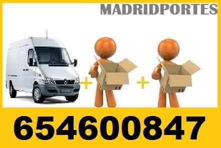 PORTES EN RIVAS VACIAMADRID 45€ ((654/600/847)) CAMION 18M3