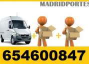 <<portes en pozuelo de alarcon>> moving: 40euros furgon 18m3((65-4600847))