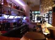 Traspaso precioso restaurante 150m² en zona retiro.amueblado
