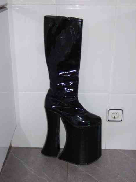 Muebles De Segunda Mano Coruña : Botas de drag queen talla pontedeume ropa