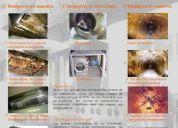 Limpieza d conductos climatización, extracion , chimeneas grasientas,campanas, inspeccione