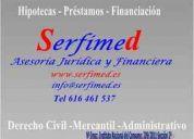 Problemas legales, financieros, fiscales. serfimed asesores la solución