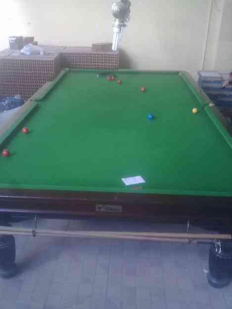 Vendo 2 mesas de billar americano profesionales de 9 pies y 1 mesa de snooker de 12 pies ordes - Vendo mesa billar ...