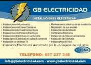 Instalador electricista presupuesto sin compromiso calidad en el servicio