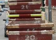 Empresa de alquiler de contenedores y containers para escobros y residuos