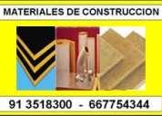 Venta aislamientos termicos acusticos insonorizacion madrid  913518300