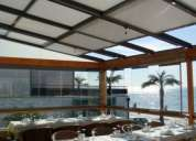 Cerramientos en toda españa de terrazas y restaurantes en hoteles y casa rurales