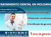 Implantología dental en una clínica moldava moderna