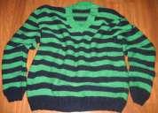 Jersey artesanal de dos colores