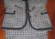Abrigo largo de muton negro