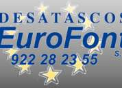 Desatascos tenerife eurofont